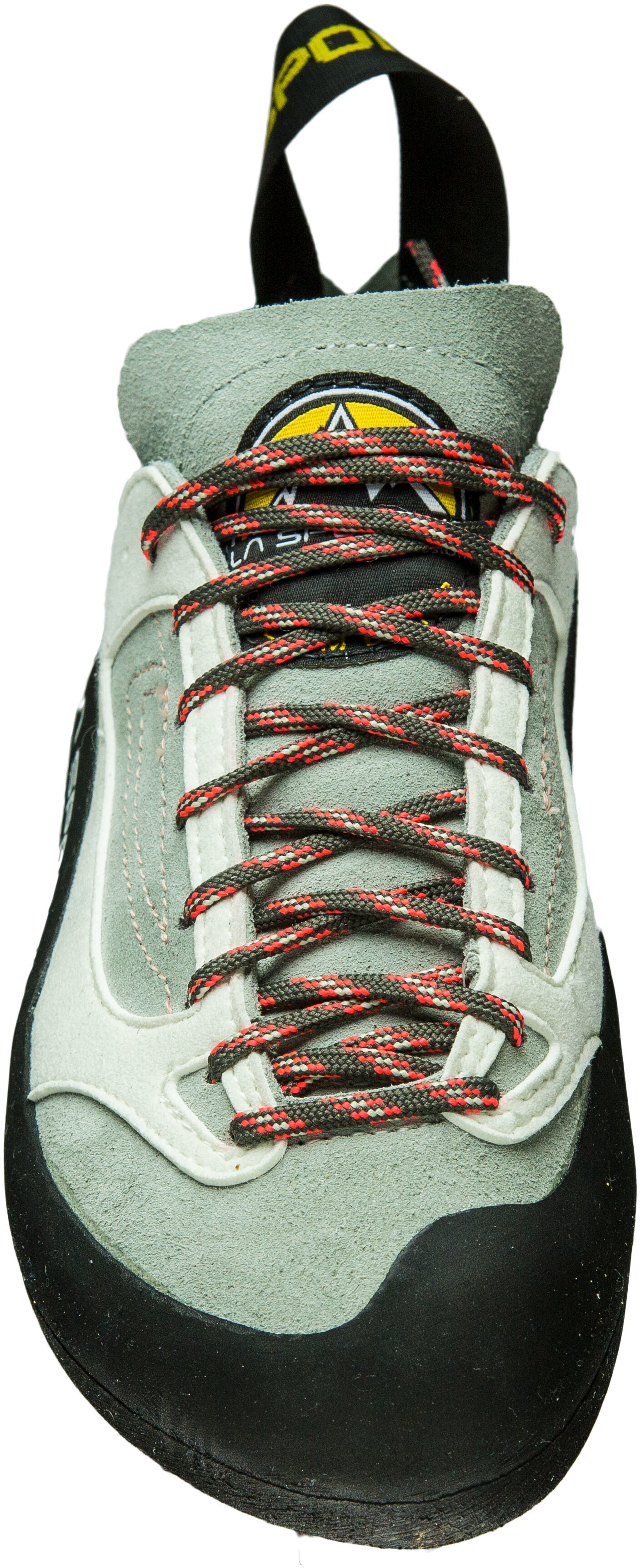 92e03ad5aac48 La Sportiva Finale Climbing Shoes Women Grey/Coral | campz.at